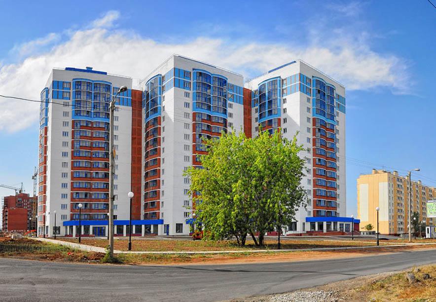 Новые дома в Чистых прудах г. Киров